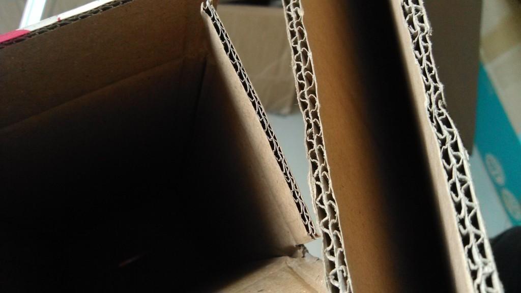 五层双瓦楞纸板(厚度7mm)