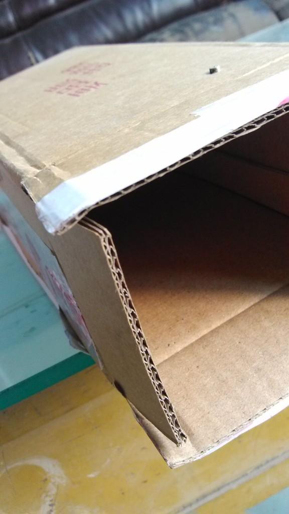 五层双瓦楞纸板(厚度5mm)BE瓦