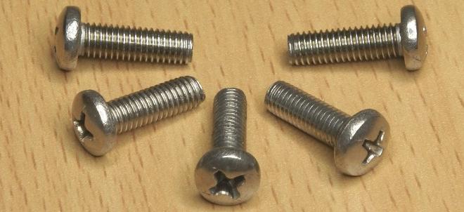 十字槽盘头机械螺钉