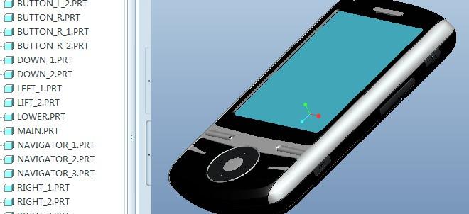 proe5.0手机实例