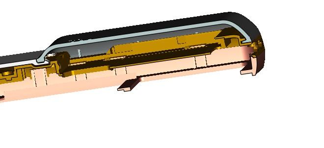 卡扣和电池盖设计