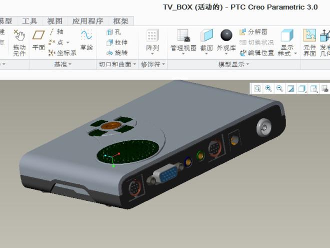 电视机顶盒模型